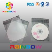 China OPP cellophane bags for CD card / gift packaging , self adhesive seal on sale