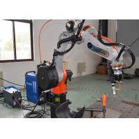 China Compact Pipe Welding Positioners Motorized Adjustable Linkage Control Precise on sale