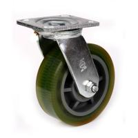China 4 heavy duty rubber wheel caster on sale