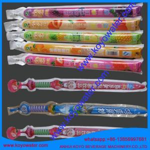 Best plastic shape bag semi automatic tube filling sealing machine/anhui koyo wholesale