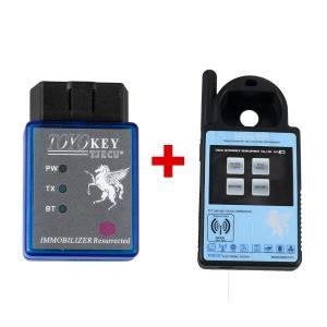 China Mini ND900 Transponder Key Programmer Plus Toyo Key OBD II Key Pro Support 4C 4D 46 G H Chips on sale