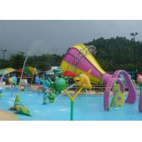 Theme Park  Tornado Water Slide / Wet N Wild Water Slides Ashland GelCoat
