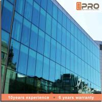 Best Explosion Proof Aluminium Curtain Wall With EPDM Gaskets And Thermal Break Sealant wholesale