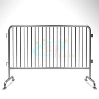 Best Steel Stage Barriers Galvanized Iron Crash Temporary Metal Road Use wholesale