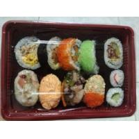 Disposable sushi tray