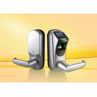 China Digital Fingerprint Door Lock with 500DPI resolution ,  thumbprint scanner door lock on sale