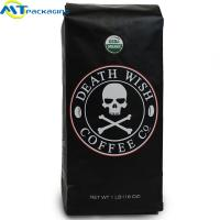 Best Moisture Proof Sealed Coffee Bags Laminated Material With Large Capacity wholesale