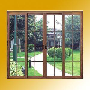 Best Wood Clad Aluminum Sliding Door wholesale