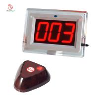 China Restaurant equipment wireless pager catering service calling system on sale