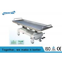 China 3 Function Hydraulic Stainless Steel Corpse / Cadaver Trolley on sale