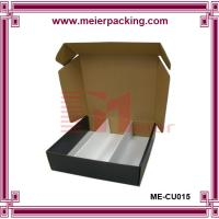 China Strong Kraft Paper Custom Packaging Corrugated Cardboard Storage Box with paper tray for 30ml liquid bottle on sale