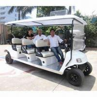 China 8 Seater Electric Sightseeing Bus with 4.4kW and 48V DC High-efficient Series Motor on sale