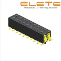 Best 2.00 mm female header connector, S.M.T type with locating peg, LCP, Phosphor bronze wholesale