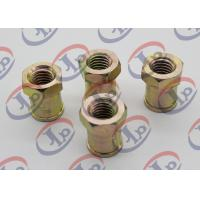 China Custom Precision Turned Components Hex Head Nuts , Stainless Steel Turned Parts on sale