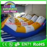 Best Guangzhou QinDa inflatable water park water inflatable seesaw water teeterboard wholesale