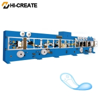 China HI CREATE 25 Tons Fluff Pulp Sanitary Napkin Machine on sale