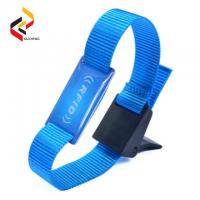 Best Used for swimming pool Mifare S50 Classic 1K NFC chip wristband wholesale