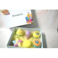 China Natural Organic Custom Bath Bombs Gift Box With Private Label Medium Weight on sale