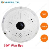 Best Digital PTZ Free CMS 360 degree Panoramic IP 5MP CCTV Camera wholesale