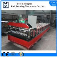 Best Profile Roofing Sheet Manufacturing Machine 8 - 12m / Min Working Speed wholesale