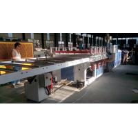 China Double Screw PVC Foam Board Extrusion Line 600kg/H High Output Capacity on sale