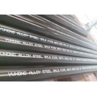 Best Alloy Steel Seamless Pipe ASTM A335 P22 P11 P9 P91 WITH Black or Varnish Coating Bevelled End wholesale