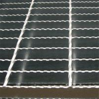 China Stainless Steel Trench Drain Grates / Stormwater Galvanised Floor Grating on sale