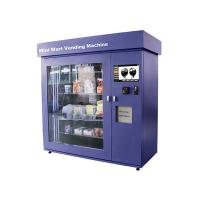 Cheap Large Glass Window Mini Mart Vending Machine with Industrial Grade Control Board for sale