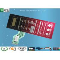 Buy cheap 2.54mm Pitch Polydome Embossing Membrane Switch ZIF Wirelead Nikto Backahesive from wholesalers