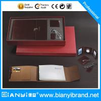 Best Notebook,clock,key chain,card bag for gift set wholesale