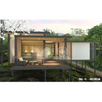 Best Reliable Modern Style Modular Homes , Aluminum Alloy Cover Contemporary Prefab Houses wholesale