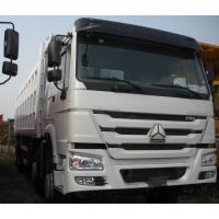 Cheap 371Hp Sinotruck HOWO Truck Left Hand Driving Type 8X4 with cargo body 30 CBM for sale