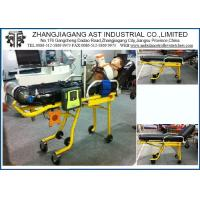 China Steel Healthcare Medical Stretcher , Emergency Cots Auto Loading Ambulance on sale