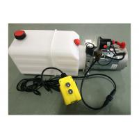 Buy cheap Dump Trailer Hydraulic Power Pack Plastic Tank , DC 12V 2000W product