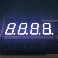Best Common Anode 4 Digit Seven Segment Display 2.8-3.3V/ Led For Temperature Controller wholesale
