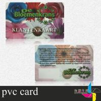 Best Magnetic Clear Plastic ID Cards With Barcode Support Photo , Name Printing wholesale