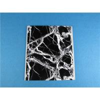 China High Intensity PVC Ceiling Panels / Artificial Marble Board Waterproof For Bathroom on sale