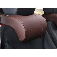 Best Soft And Comfortable Car Headrest Pillow PVC Leather Material For Car Accessories wholesale