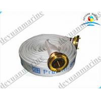 China Nature Rubber Marine Fire Fighting Equipment EPDM Lined Fire Hose on sale