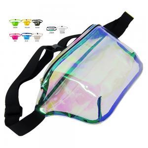 China Wholesales Women Waist Bag Custom Clear PVC Ladies Fanny Bags Cute Smart Bum Belts Waist Packs Supplier on sale