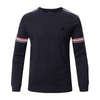 Best Printed Viscose Long Sleeve Warm Sweater for Men wholesale