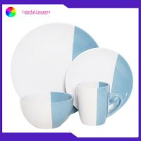 China Thanksgiving Ceramic Dinnerware Sets Coffee Cup Glazed Dessert Plate Soup Mugs on sale