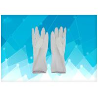 China Tear Resistance Disposable Exam Gloves , Medical Latex Gloves Tear Resistance on sale