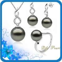 Best 14k Tahitian Pearl Jewelry Set and Diamonds (ST80433) wholesale