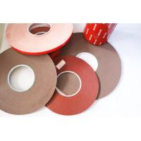 Best Double Sided Foam Tape Gray carrier material color 120 degree temperature resistant wholesale