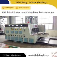 China Fully Automatic Corrugated Box Printing Machine Long Term Use With High Precision on sale