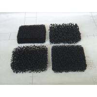China Active Carbon Air Filter Foam with Reticulated Polyurethane Material 3 - 50 mm Thick on sale