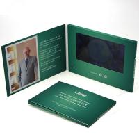 Best Customized Size Video Brochure Card , Lcd Video Brochure For Birthday Gift wholesale