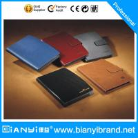 Best China Good Quality Leather Loose Leaf Notebook,Year Planner wholesale
