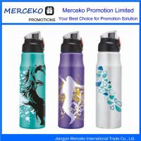China Water Drinking Bottle Flask Logo Printed on sale